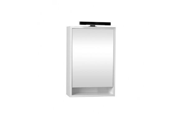 Zrcadlová skříňka Z4.55 s osvětlením (otevírání levé)