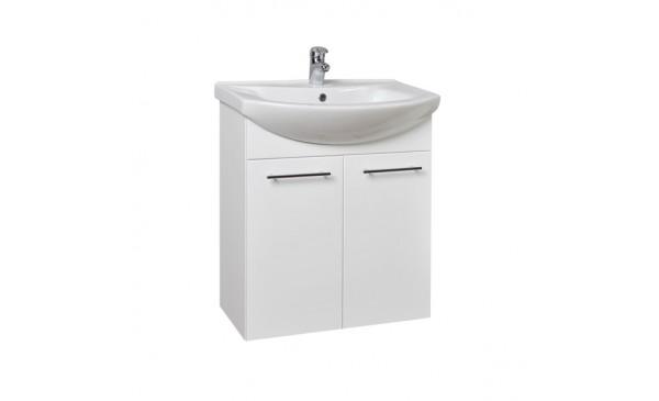 Umyvadlová skříňka KZ55 (bílá)
