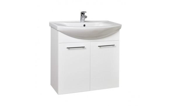 Umyvadlová skříňka KZ75 (bílá)