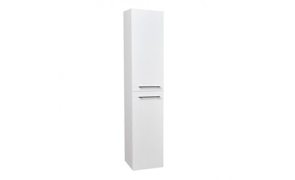 Vysoká skříňka s košem KZ2.30 (bílá - otevírání pravé)